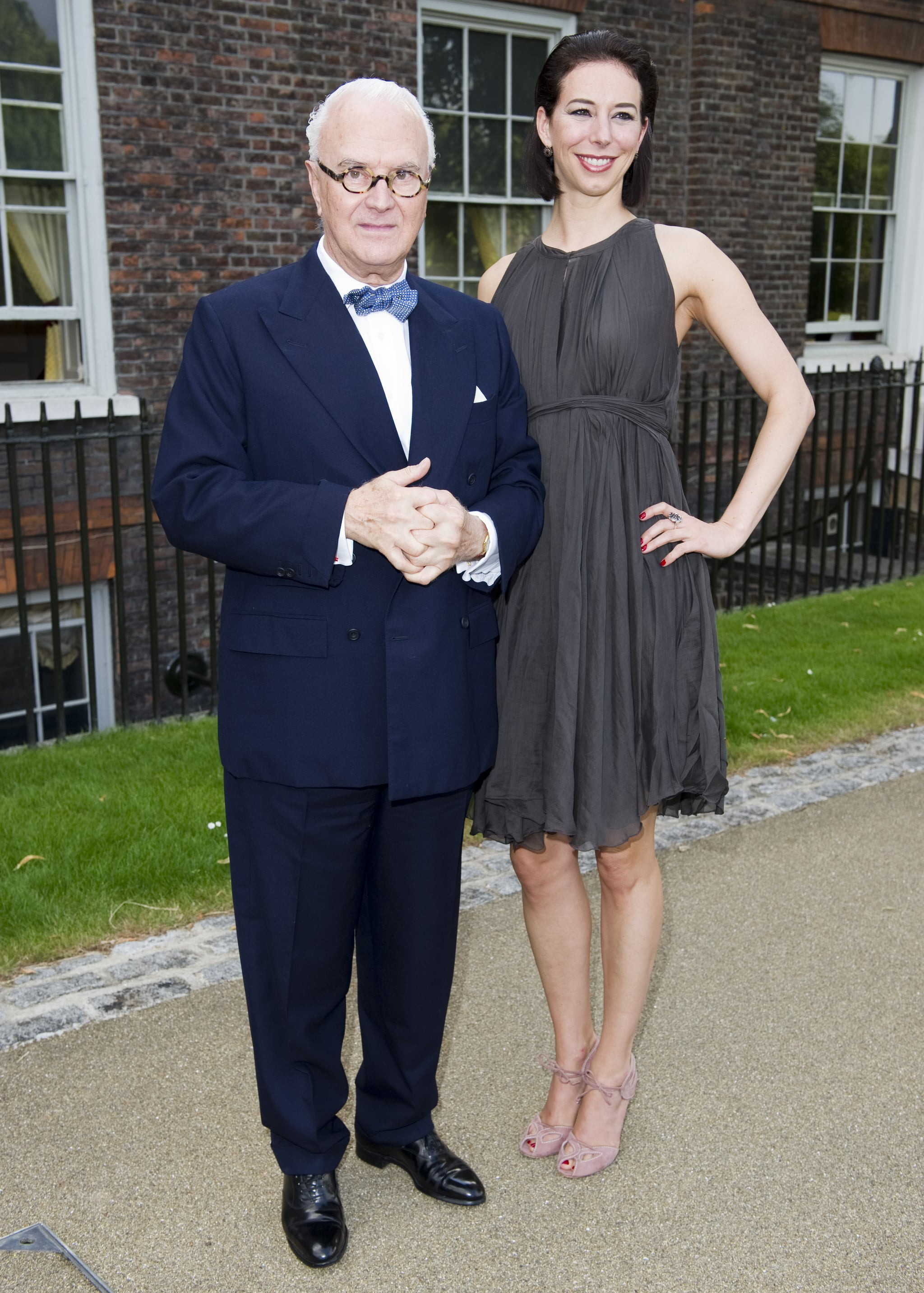 Manolo Blahnik previewed the Fashion Rules exhibition in London.