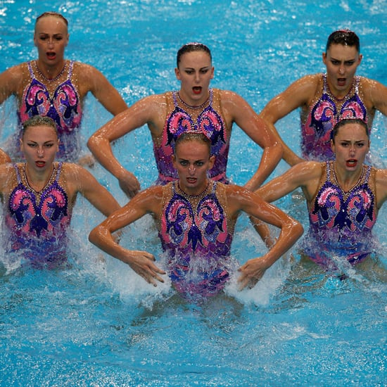 Funny Synchronised Swimming Pictures 2016