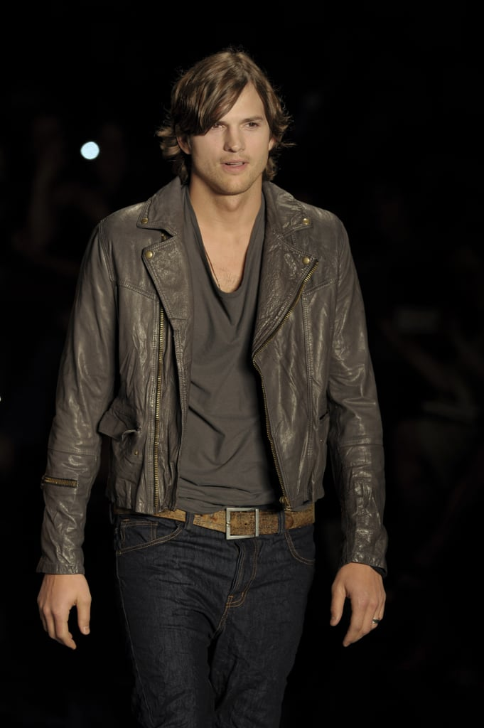 He popped up on the Colcci runway, and you did a double take.