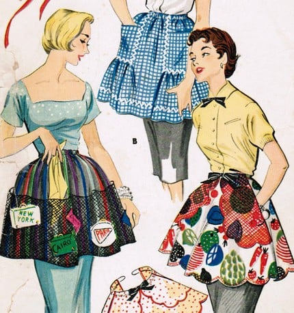 Ask Casa: Displaying Vintage Aprons