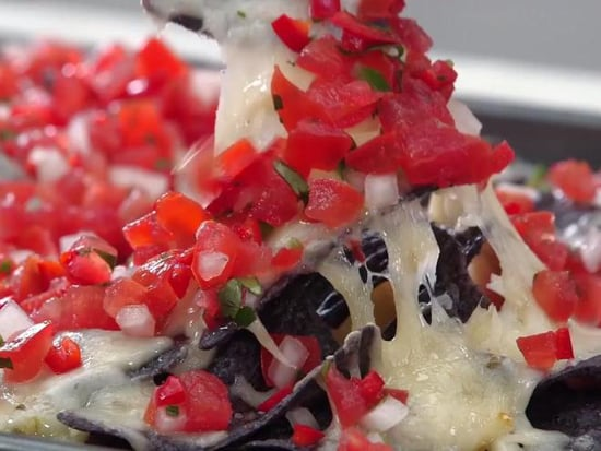 These Red, White and Blue Nachos Are the Patriotic Party Snack You Need