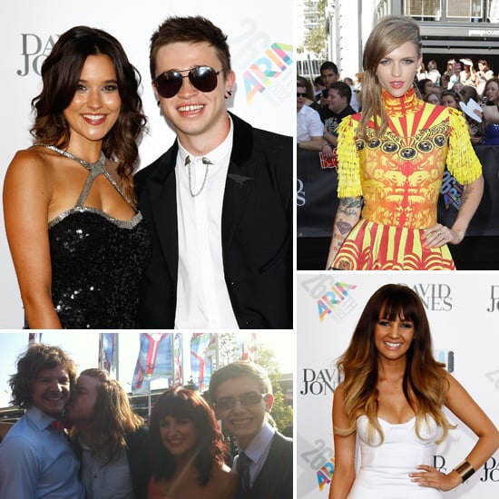 2012 ARIA Awards Red Carpet Celebrity Interviews and Pics