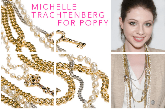 Michelle Trachtenberg Designs a Jewelry Collection For Coach
