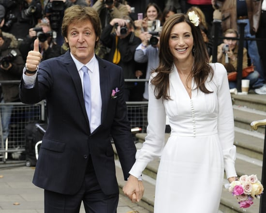 Stella McCartney Designed Wedding Dress — Nancy Shevell [Pictures]