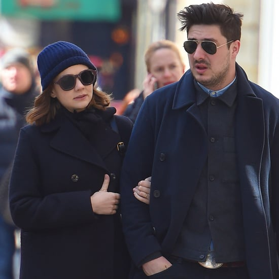 Marcus Mumford and Carey Mulligan Walking in NYC