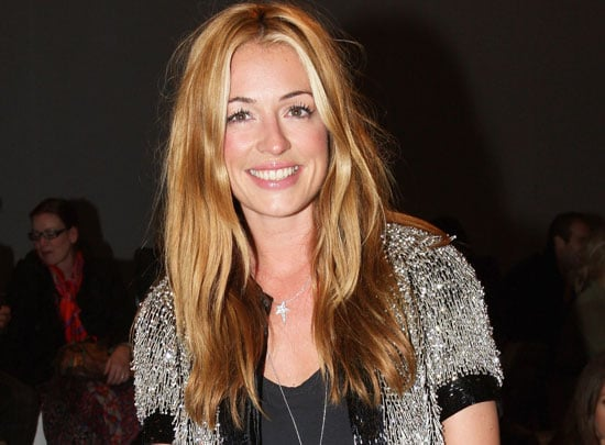 Cat Deeley nous dit un petit mort sur son maquillage au defile Matthew Williamson