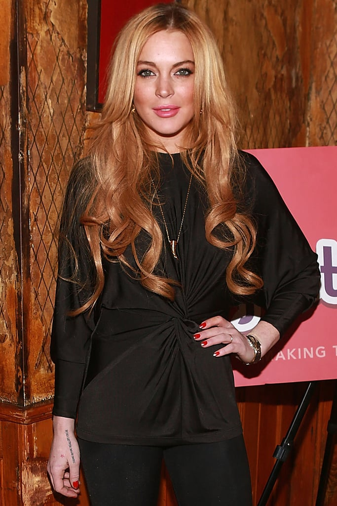 Lindsay Lohan will star in Inconceivable, the actress announced during a press conference at the Sundance Film Festival. Lohan describes the film, which she'll also produce, as a psychological thriller about a woman trying to reclaim something she lost.