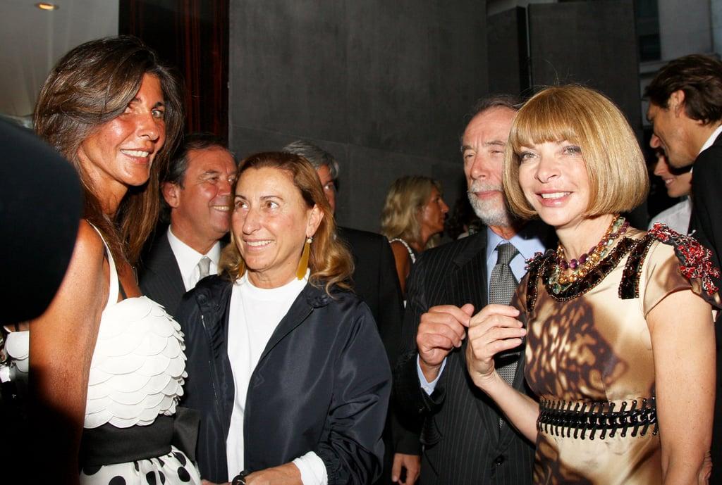 Miuccia Prada, Domenico De Sole, Anna Wintour
