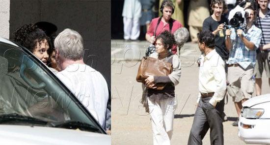 Angelina's Bodyguards Strike Again