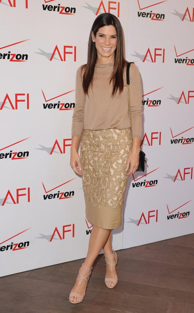 Sandra Bullock at the AFI Awards