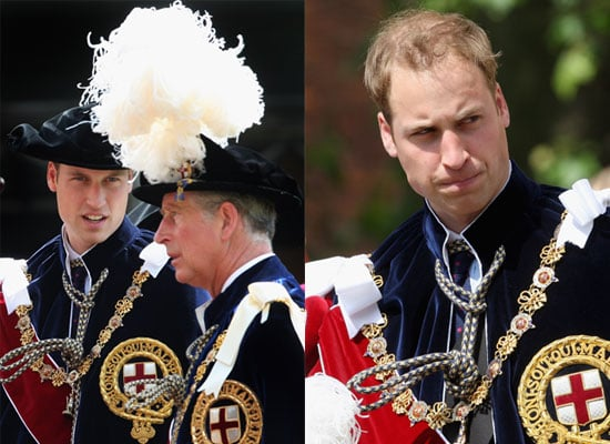 Photos of Prince William, the Queen, Prince Charles and Royals at Order of the Garter Ceremony Procession