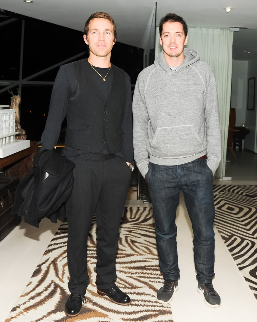 David Neville and Marcus Wainwright attended Diane von Furstenberg and the CFDA's bash for Marigay McKee.