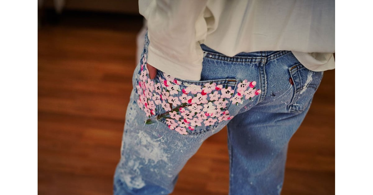 Рисуем на джинсах