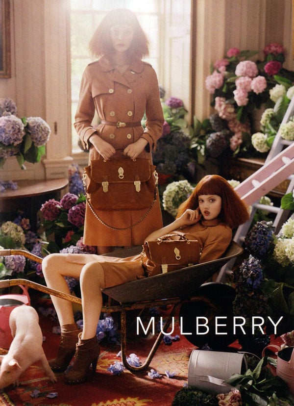 Lindsey Wixson For Mulberry