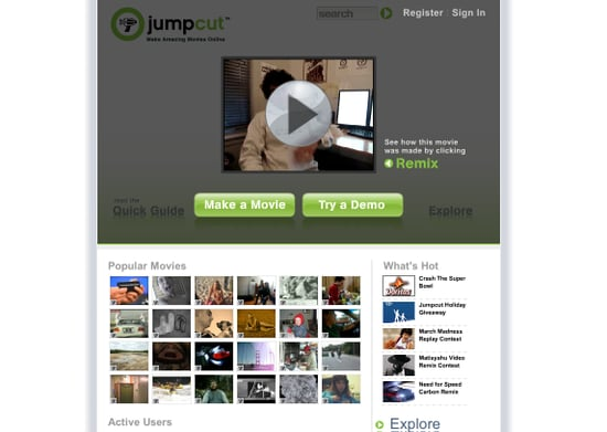 Website Of The Day: Jumpcut