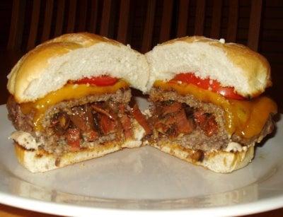 Would You Eat This Chorizo-Stuffed Cheeseburger?
