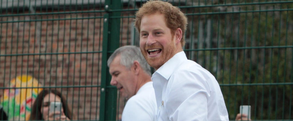 Prince Harry's Latest Royal Visit Will Only Make You Fall Further in Love With Him