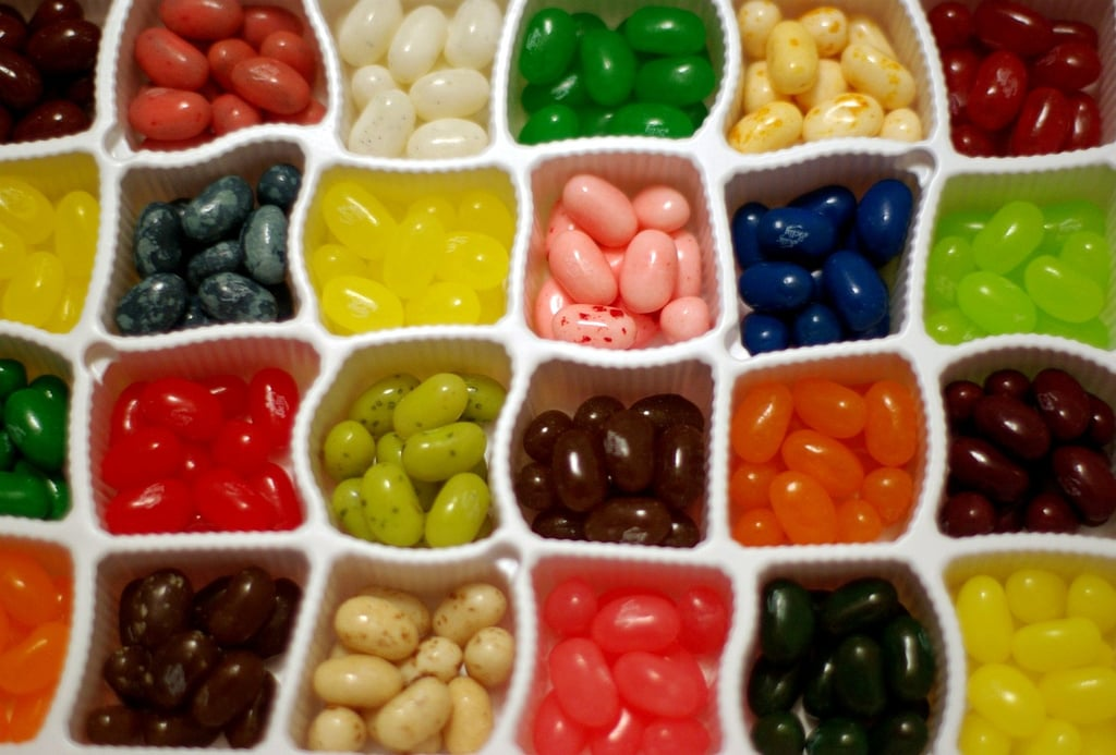 Jelly Belly, 80 Packs ($35)