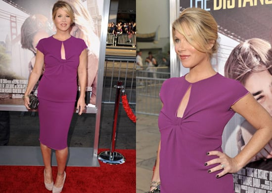 Pictures of Christina Applegate Pregnant at Premiere