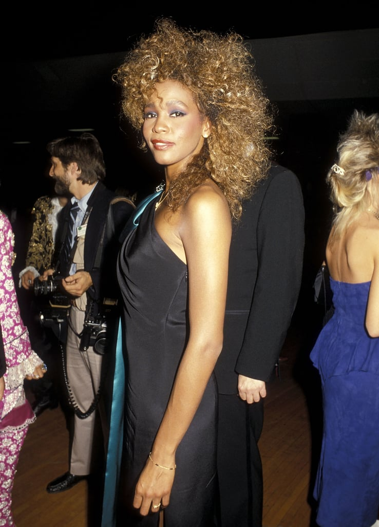 She looked glamorous at the American Music Awards in 1986.