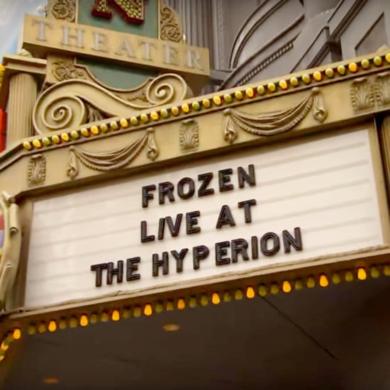 Sneak Peak of Disneyland's Frozen Live