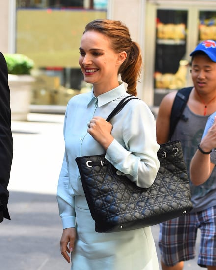 Natalie Portman at Good Morning America to promote directorial debut, A Tale of Love and Darkness ahead of festival season