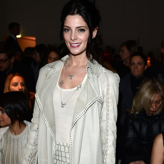 Ashley Greene Takes a Front-Row Seat at Ferragamo's MFW Show