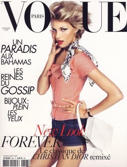 Anja Rubik Finally Scores a Major Vogue Cover with Vogue Paris June/July 2009