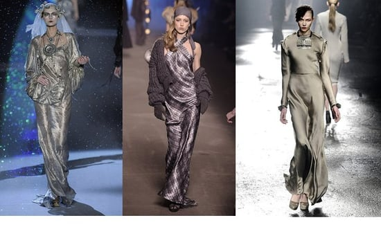 Fall 2009 Paris Trend Report: Long Slinky Evening Wear