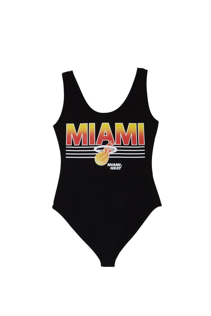 Forever 21 x NBA Miami Heat Bodysuit
