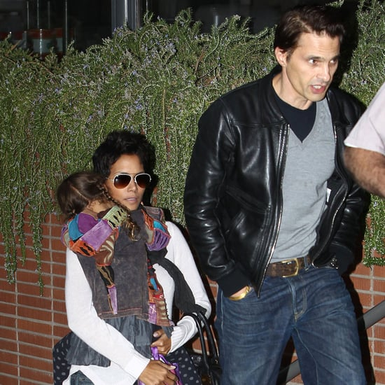 Halle Berry and Olivier Martinez With Nahla   Pictures