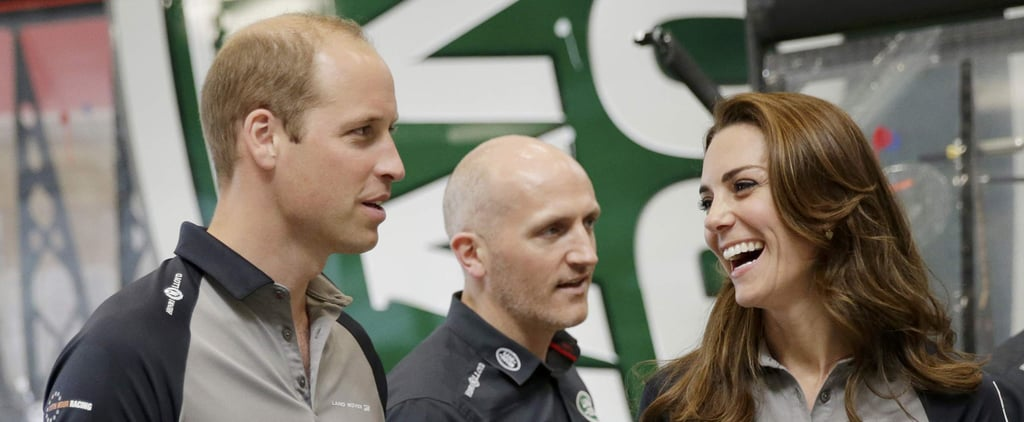 "Prince William Jokes About ""Spoilt"" Prince George at a Racing Event With Kate Middleton"