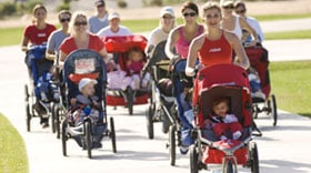 Stroller Strides Provides Mom-Me Time