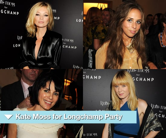 Photos of Kate Moss for Longchamp Party at Spring 2011 London Fashion Week