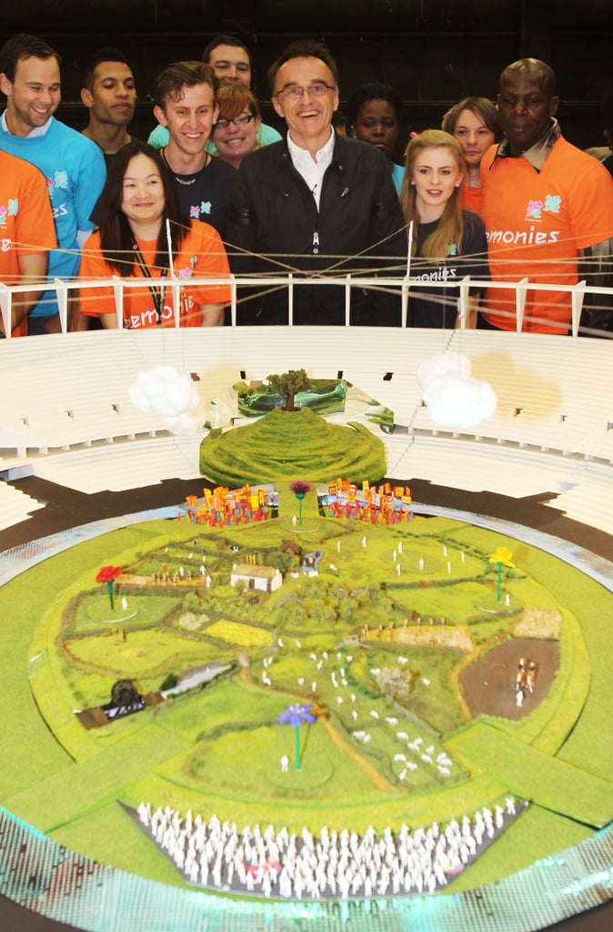 The opening ceremony will be a huge production involving 10,000 cast and crew. The opening sequence will also contain farm animals such as sheep, horses, chicken and geese in a British countryside setting.