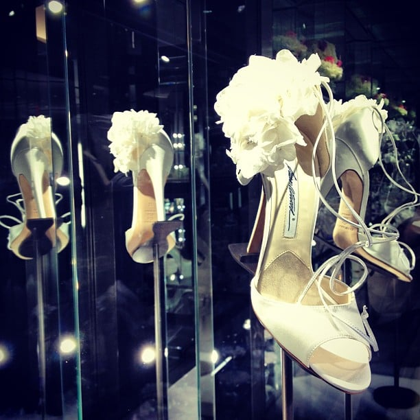 Brian Atwood's debut bridal shoe collection definitely did not disappoint.