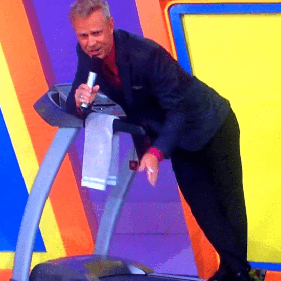 The Price Is Right Announcer Falls on Treadmill