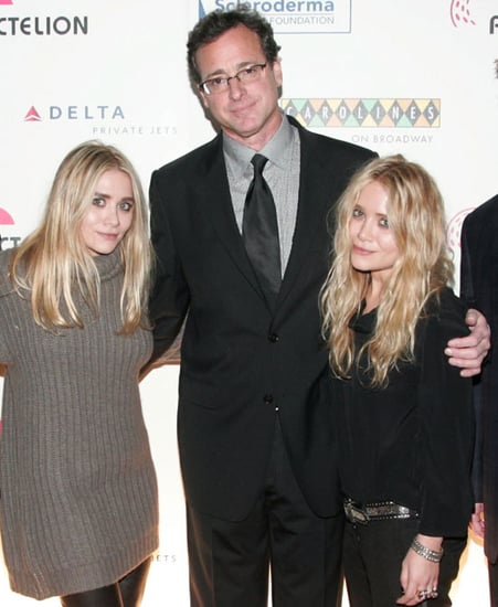 Pictures of Ashley Olsen, Mary-Kate Olsen, Jerry Seinfeld, Seth Meyers, and Bob Saget at a Charity Benefit