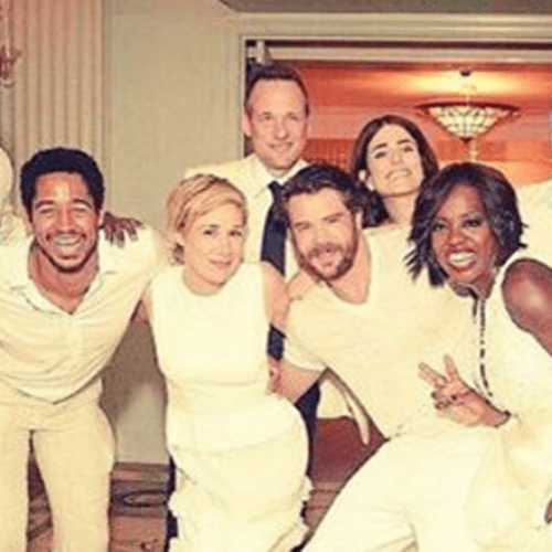 How to Get Away With Murder Cast at Viola Davis Vow Renewal