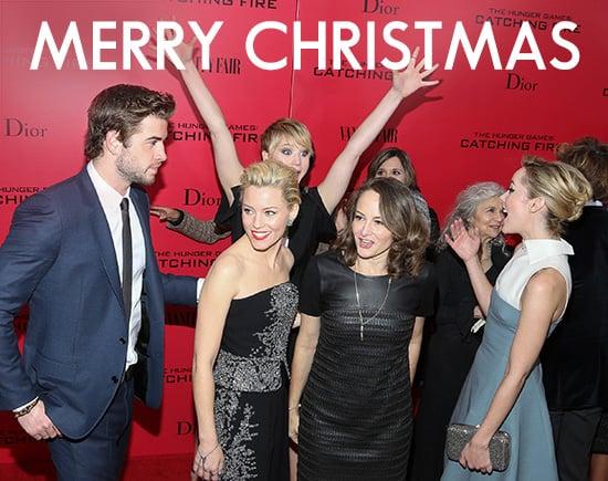 Merry Christmas From POPSUGAR Australia Celebrity 2013
