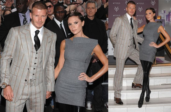 The Beckhams Debut Their Scents in Crazy Boots