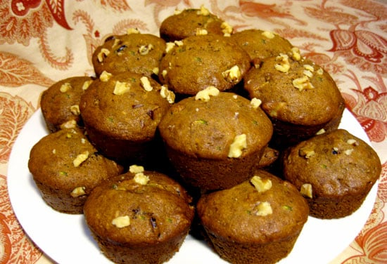 Recipe For Banana Cranberry Zucchini Muffins