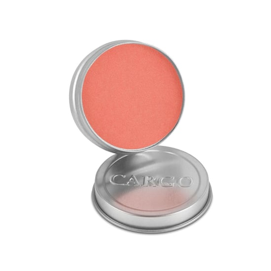 Still looking for that flirty flush in the Summer months? Reach for Cargo Cosmetics Water-Resistant Blush ($26). It gives you that sun-kissed glow without the worry of makeup running down your face midday.  — MD