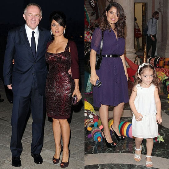 Pictures of Salma Hayek With Husband Francois Henri-Pinault