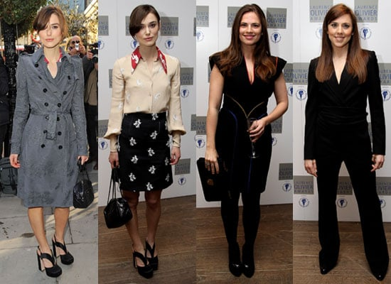 Photos of Keira Knightley, Hayley Atwell, Melanie Chisholm at Laurence Olivier Award Nominees Luncheon Pictures