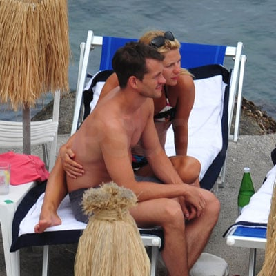 Claire Danes and Hugh Dancy On Vacation