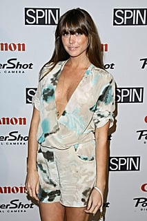 Socialite Erin Lucas walks the red carpet at Girl Talk presented by SPIN & Canon at Hiro Ballroom at The Maritime Hotel on May09
