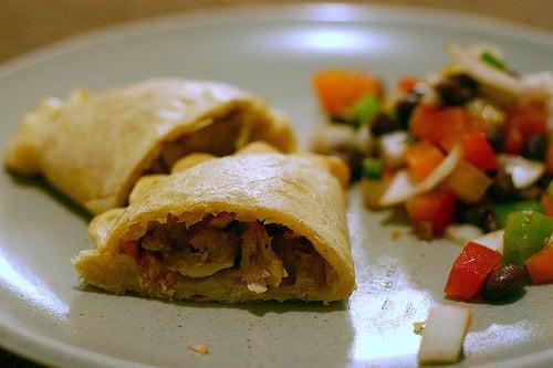 Yummy Link: Chicken Empanadas with Chorizo and Olives