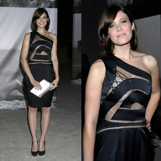 Mandy Moore in Preen at the Los Angeles County Museum of Art