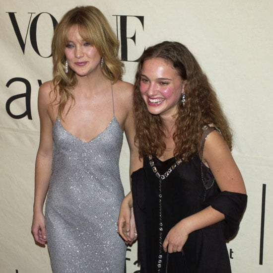 Natalie Portman and Kate Hudson made a statement at the VH1 Vogue Fashion Awards in NYC in 2000.